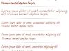 Hand Written Fonts