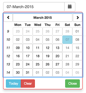 Angular JS UI Bootstrap Date Picker