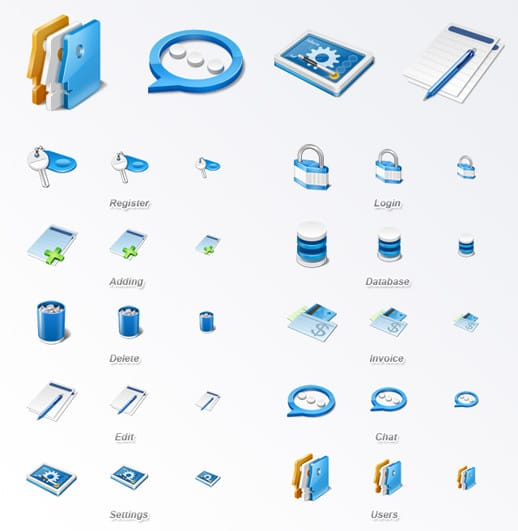 application-icon-set