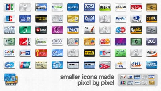 credit cards icon. .com/credit-card-icons/