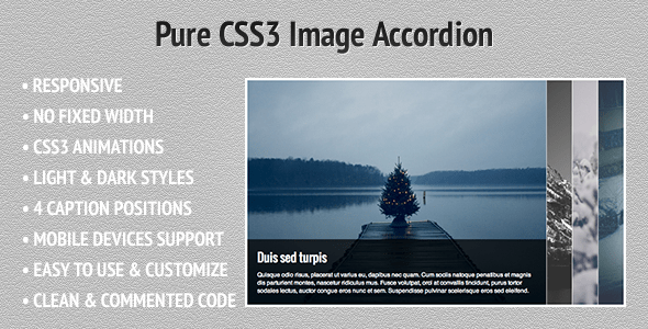 Pure-CSS3-Image-Accordion